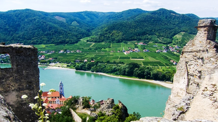 Austria Day trip to the Danube Valley and Melk Abbey in the Wachau Valley [Departure from Vienna]