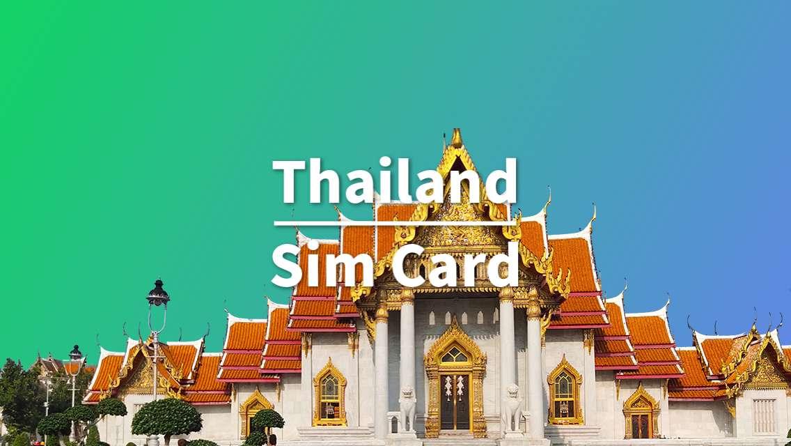 8 Day SIM Card for Thailand (Shenyang Pickup)