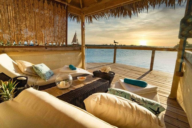 Private Ocean View Cabana at Pearl Island (from Nassau)