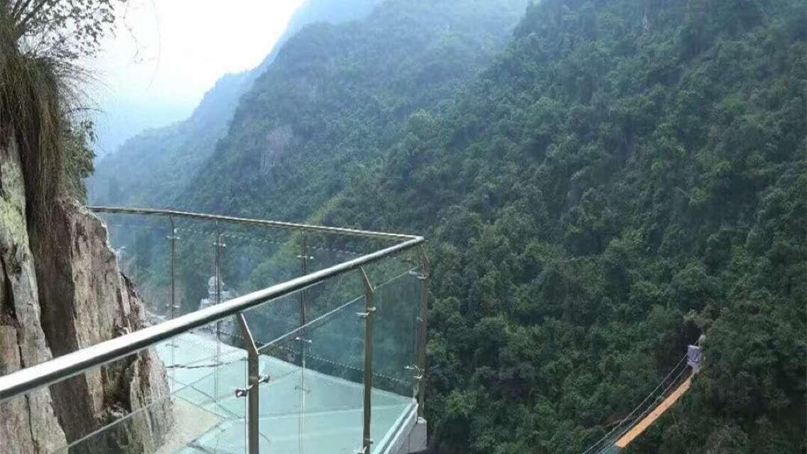 福州永泰天門山生態旅遊風景區玻璃棧道一日遊