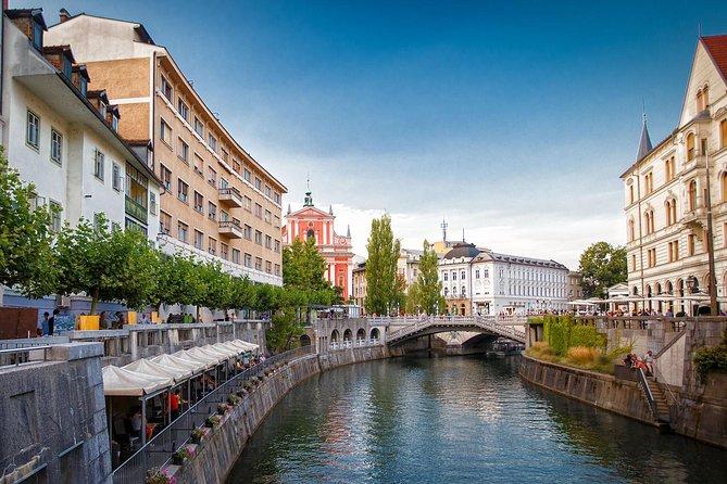 Ljubljana Capital of Slovenia from Koper