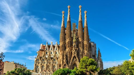 Barcelona in One Day: Sagrada Familia, Park Guell & Old Town with Hotel Pick-up