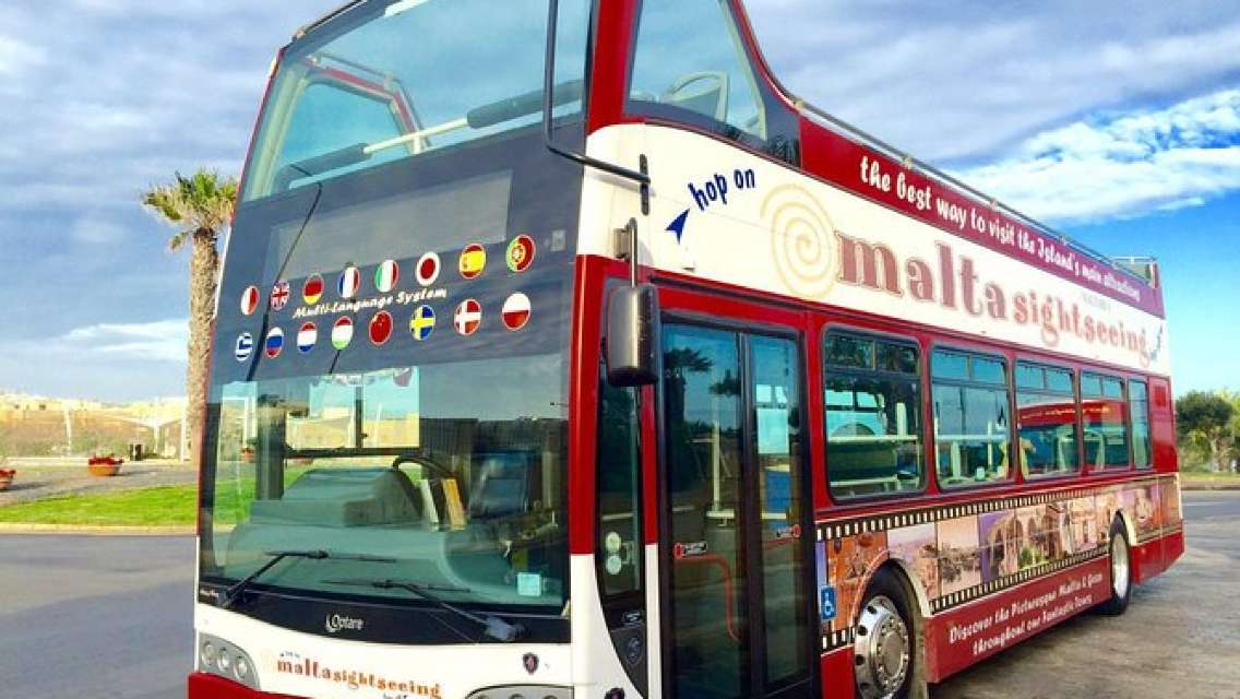 Malta's Panoramic South Hop On Hop Off Tour