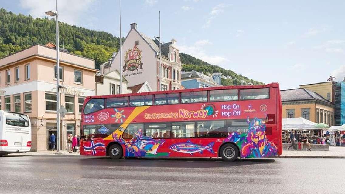 City Sightseeing Bergen Hop-On Hop-Off Bus Tour