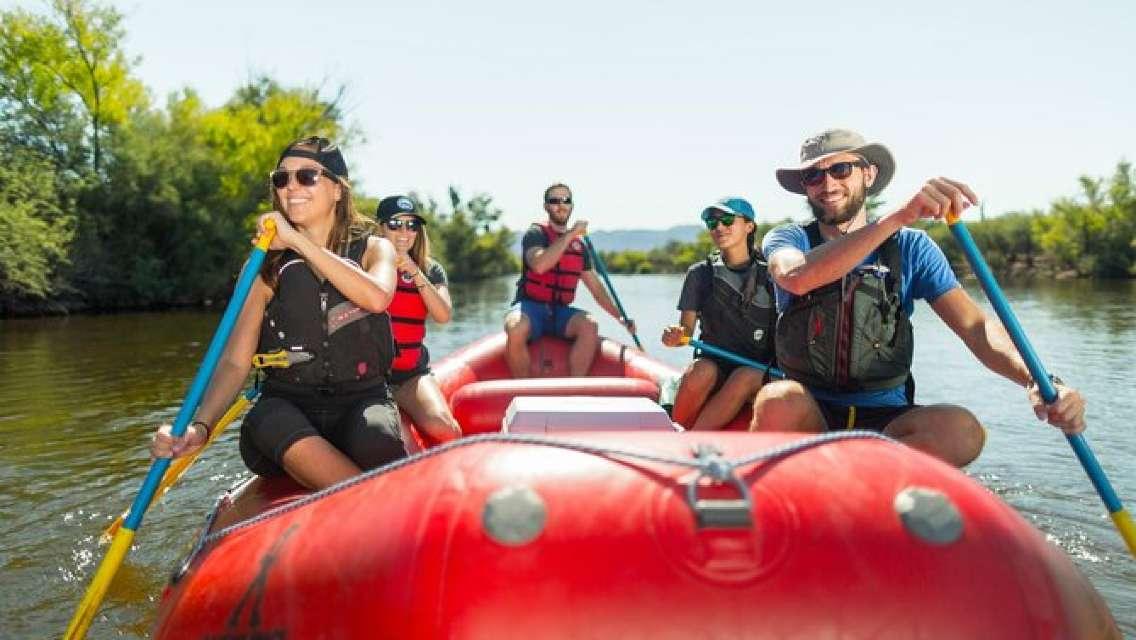 Half-Day Lower Salt River Rafting Tour