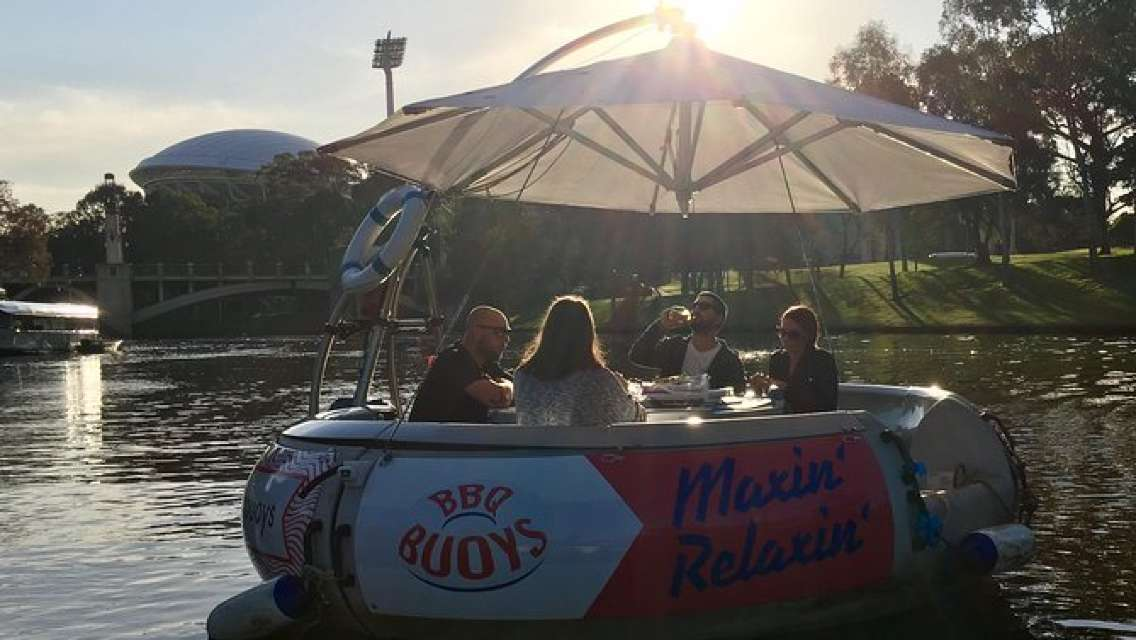 Adelaide 2-Hour BBQ Boat Hire for 6 People