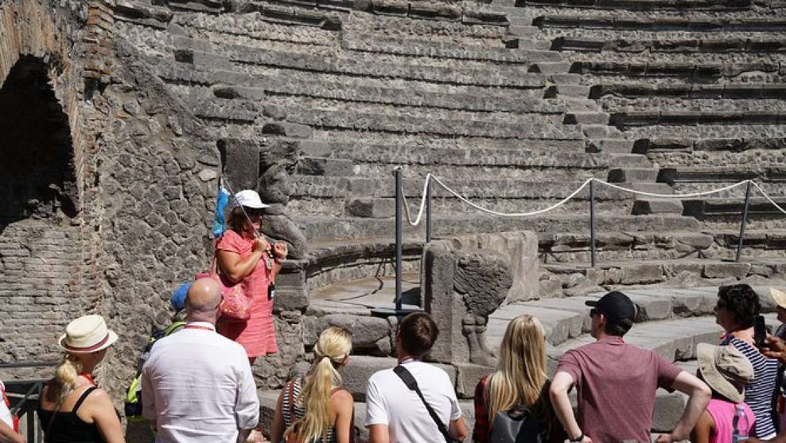 Skip-the-line Pompeii and Mount Vesuvius Guided Tour From Positano