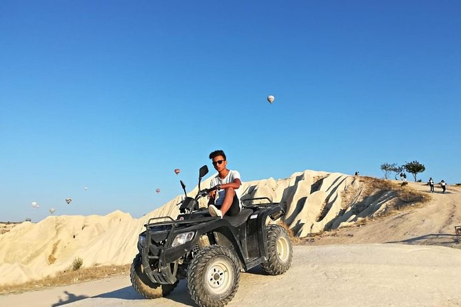Quad ATV Cappadocia 2 hours Guided Tour from Goreme
