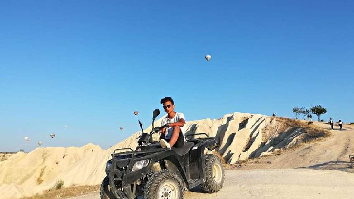 Quad ATV Cappadocia 2 hours Guided Tour from Goreme