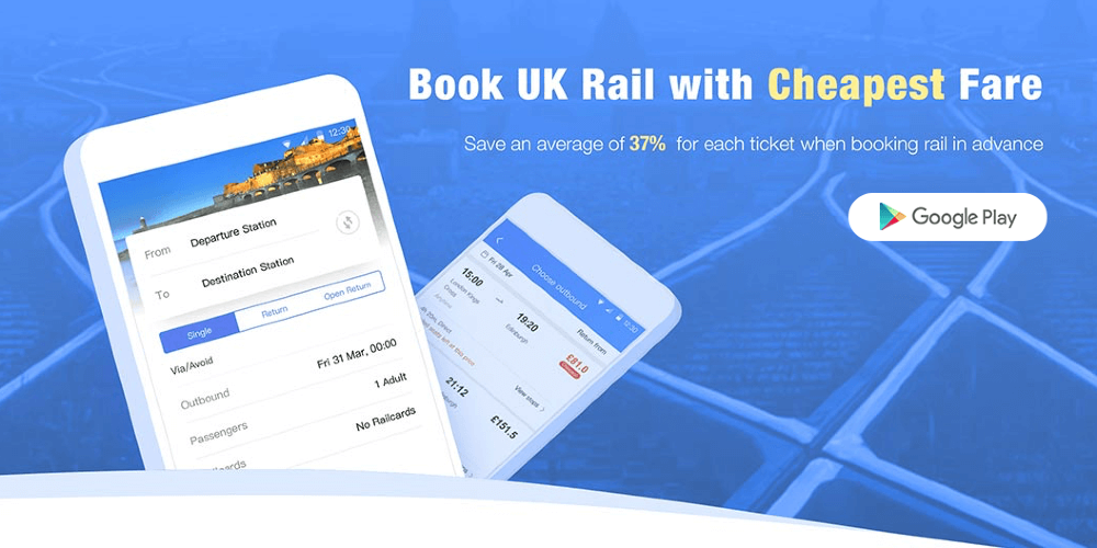 Trainpal can reduce train fares in Britain by an average of 37%