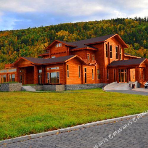 Arctic Wooden Villa