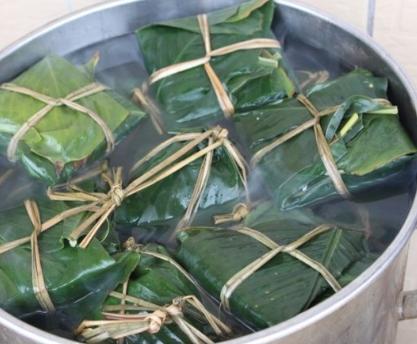 傳統裹蒸粽
