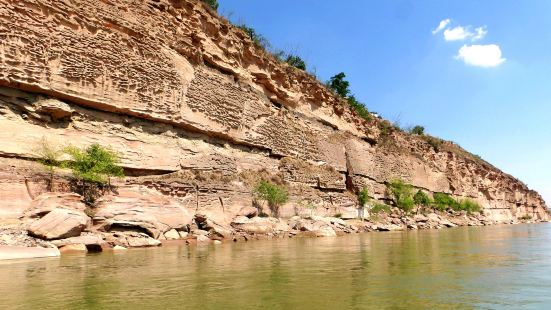 黃河畫廊(黃河百里水蝕浮雕)