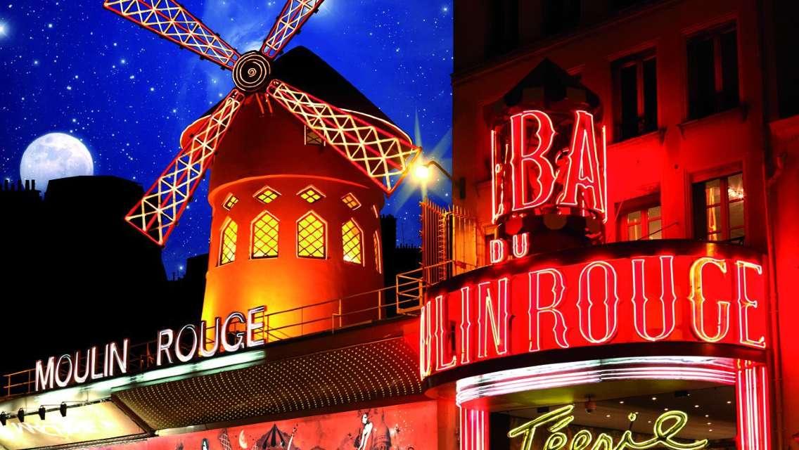 Moulin Rouge Show Ticket Paris