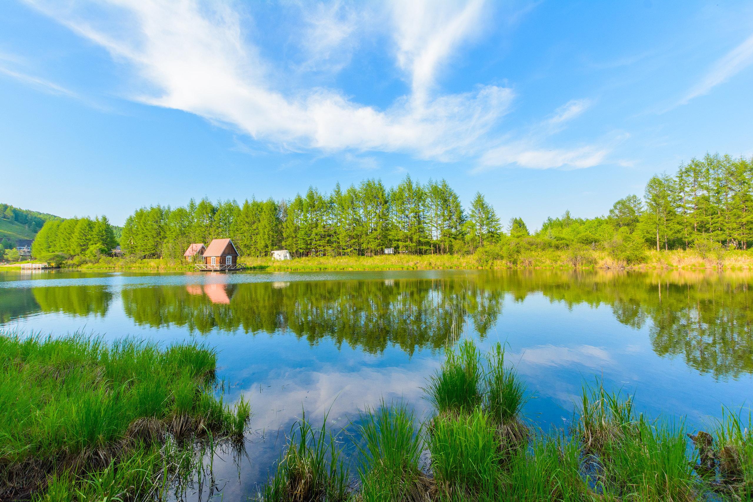 根河貯木場