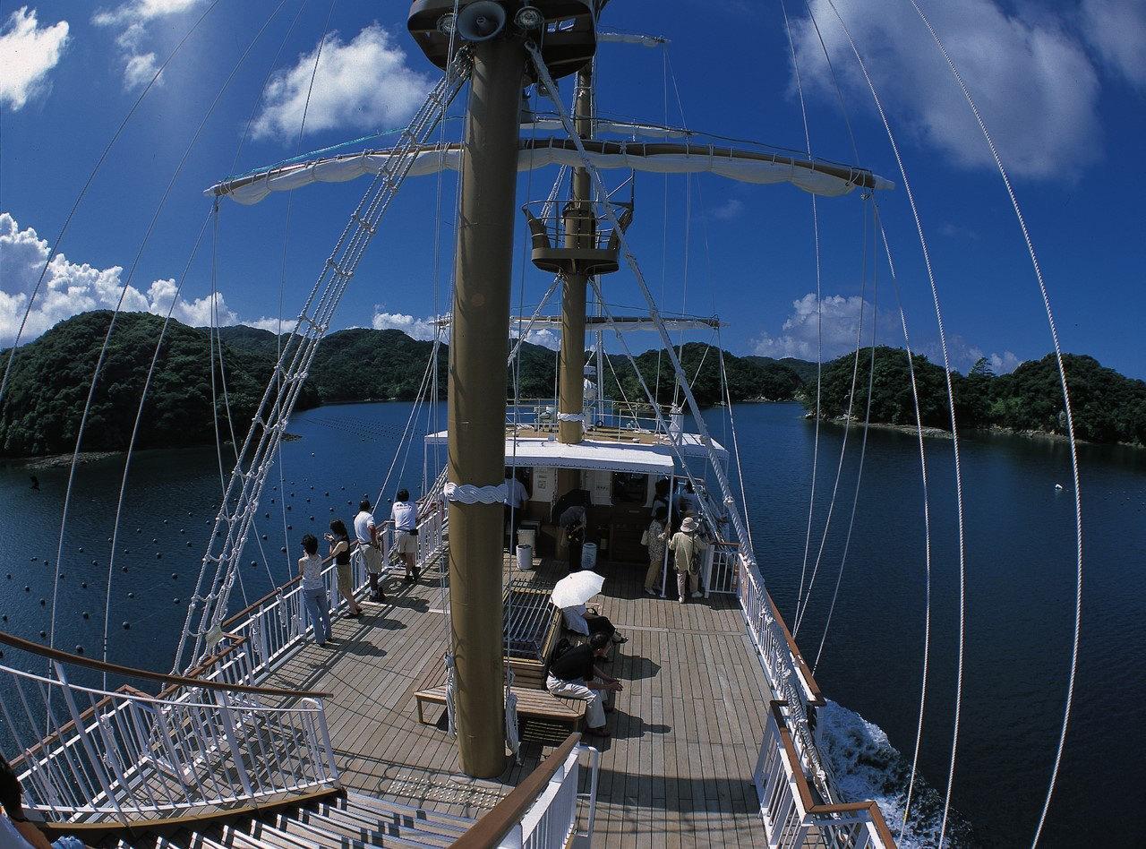 九十九島遊覧船(パールクィーン と海賊遊覧船みらい) 乗船券