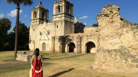 国家公园是由几个要塞遗迹组成,各个要塞相隔都不远,SanJo