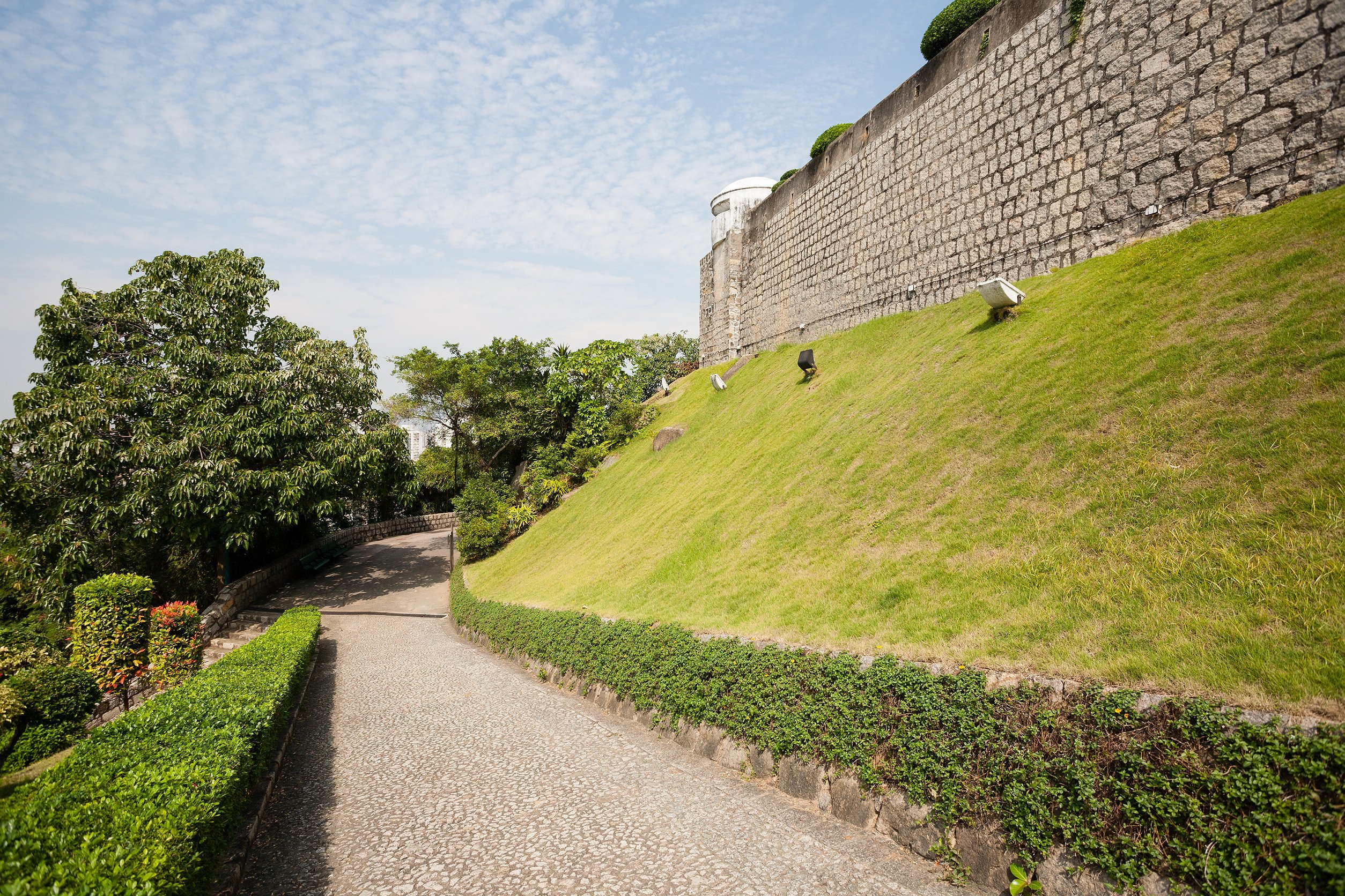 Old Macau City Walls Sections