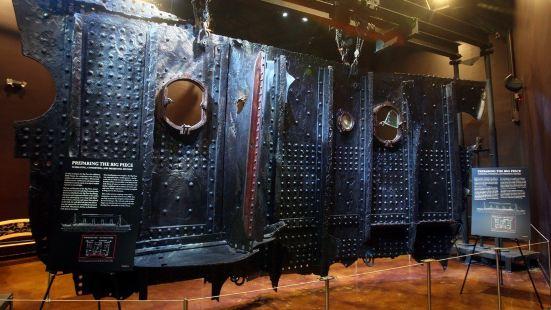 泰坦尼克號文物展