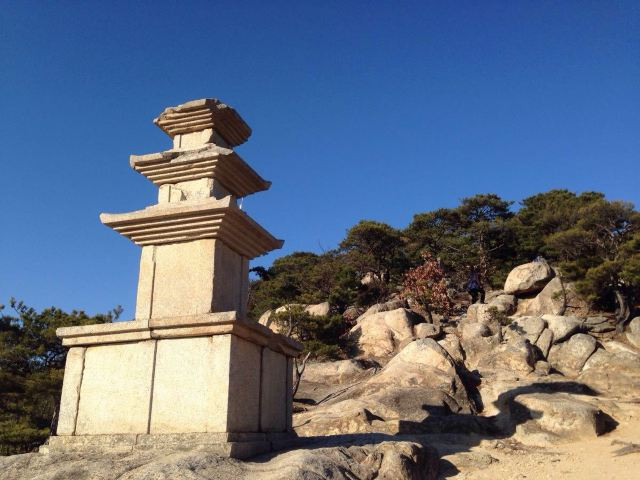 Namsan Mountain of Gyeongju