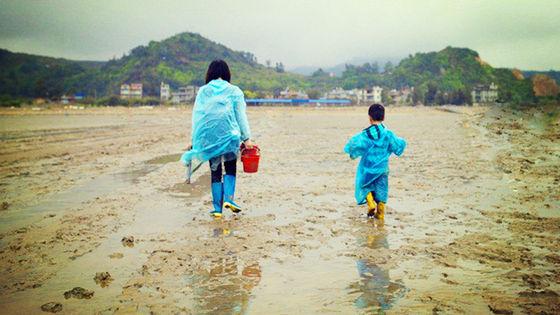 福州連江趕海一號親子灘塗主題樂園一日遊