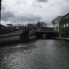 倫敦北部的運河用戶圖片