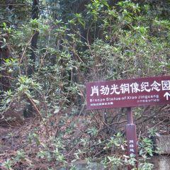 샤오진광 동상 여행 사진