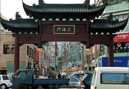上海牌樓和上海街