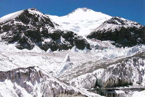傑瑪央宗冰川