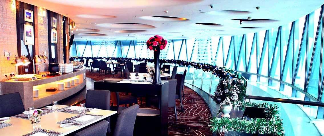 Canton Tower 106th Floor Revolving Mediterranean Restaurant Meal Voucher