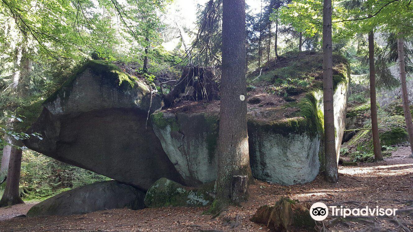 Felsenlabyrinth auf der Luisenburg