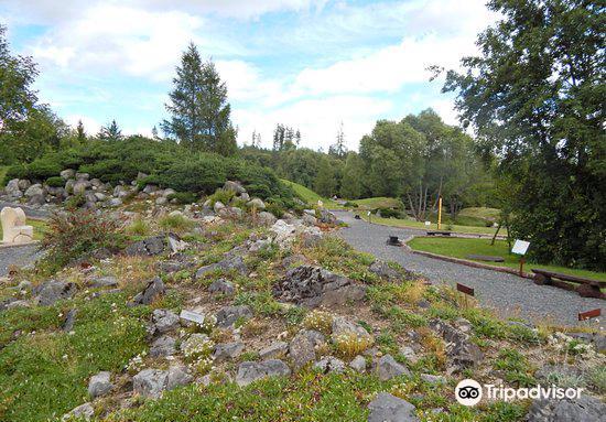 Botanicka zahrada - Expozicia Tatranskej prirody