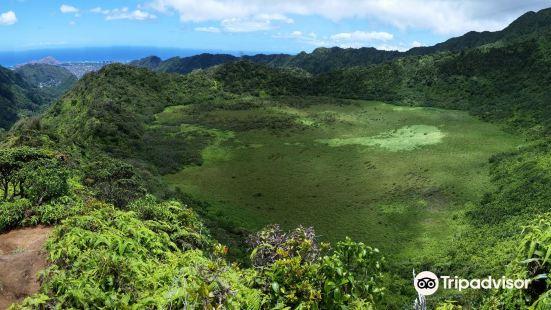 Ka'au Crater
