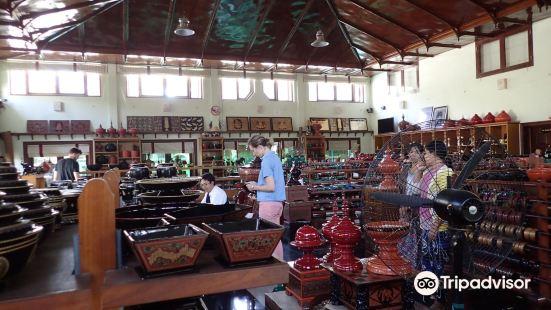 Shwe la Yaung Lacquer Ware Workshop