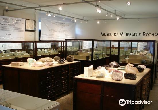 Museu de Minerais e Rochas