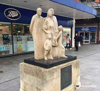 Year of the Pedestrian Statue