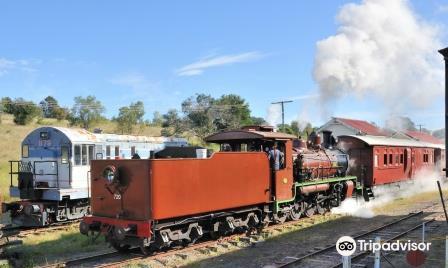 玫瑰木火車博物館