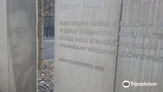 Henryk Slawik and Jozsef Antall Monument