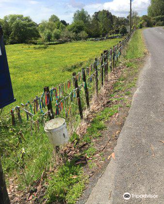 The Toothbrush Fence