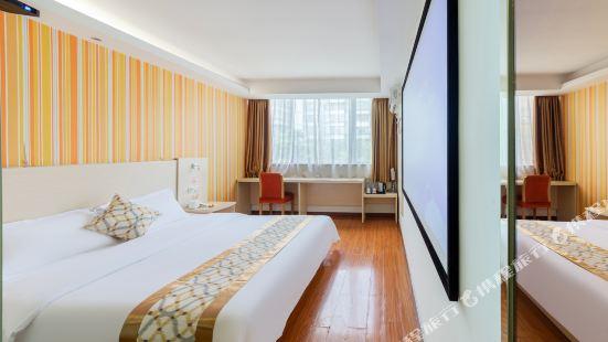 Home inns, cloud series - piper cloud, hotel (guangzhou wide xingfa square garden road shop)