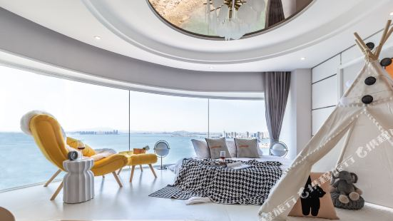 青島棲海憑風海景度假公寓