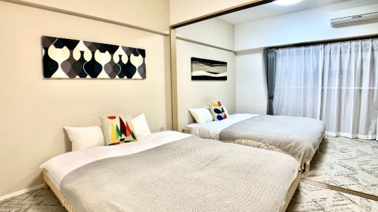 Located in Tenjin area the largest downtown area