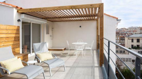 Appart'hôtel Maison Montgrand Marseille Vieux Port