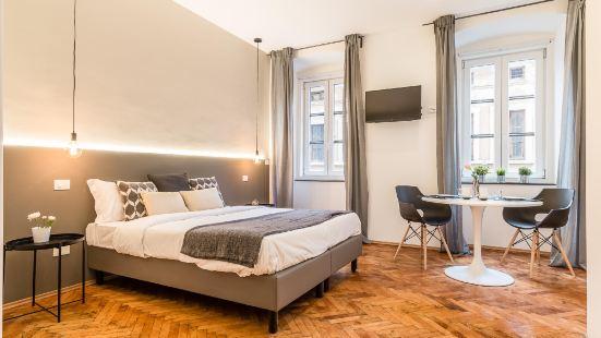 位於裏雅斯特市中心的1卧室公寓-60平方米 帶1個獨立浴室