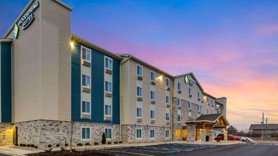 印第安納波利斯卡斯爾頓伍德斯普林套房酒店