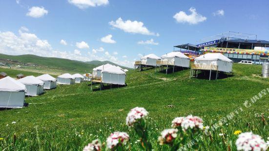 若爾蓋棲山第一攝影自駕營地