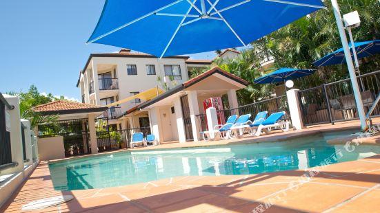 黃金海岸雪佛龍棕櫚樹酒店