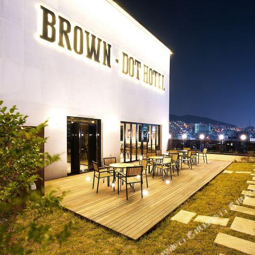 Brown Dot Busan station Sky Garden
