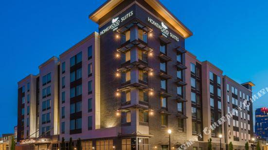 小石城市中心希爾頓欣庭套房酒店