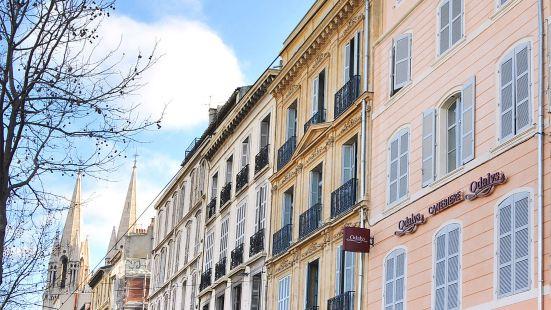 馬賽市卡納比埃大道奧德利公寓式酒店